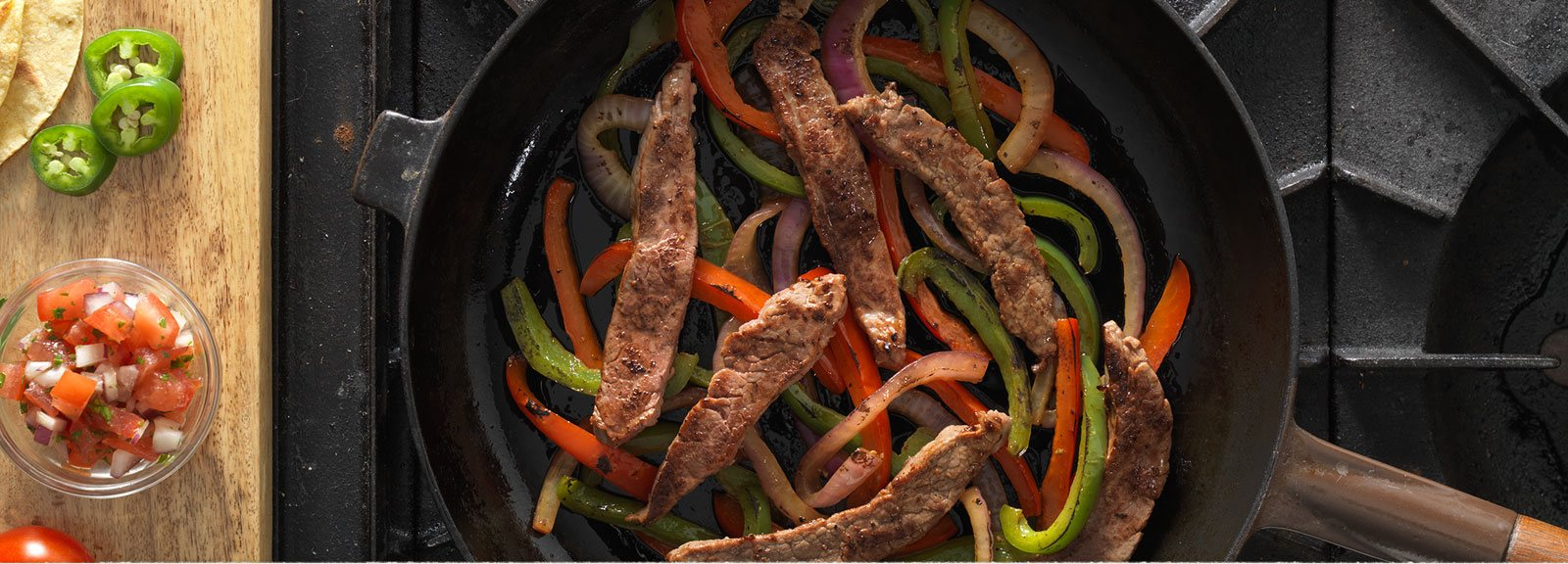 Dakota Grass Fed Steak Fajitas