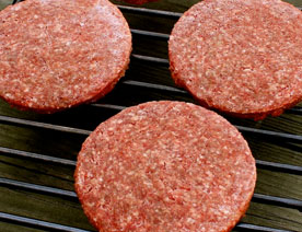 Organic 85/15 Ground Beef Frozen Patties